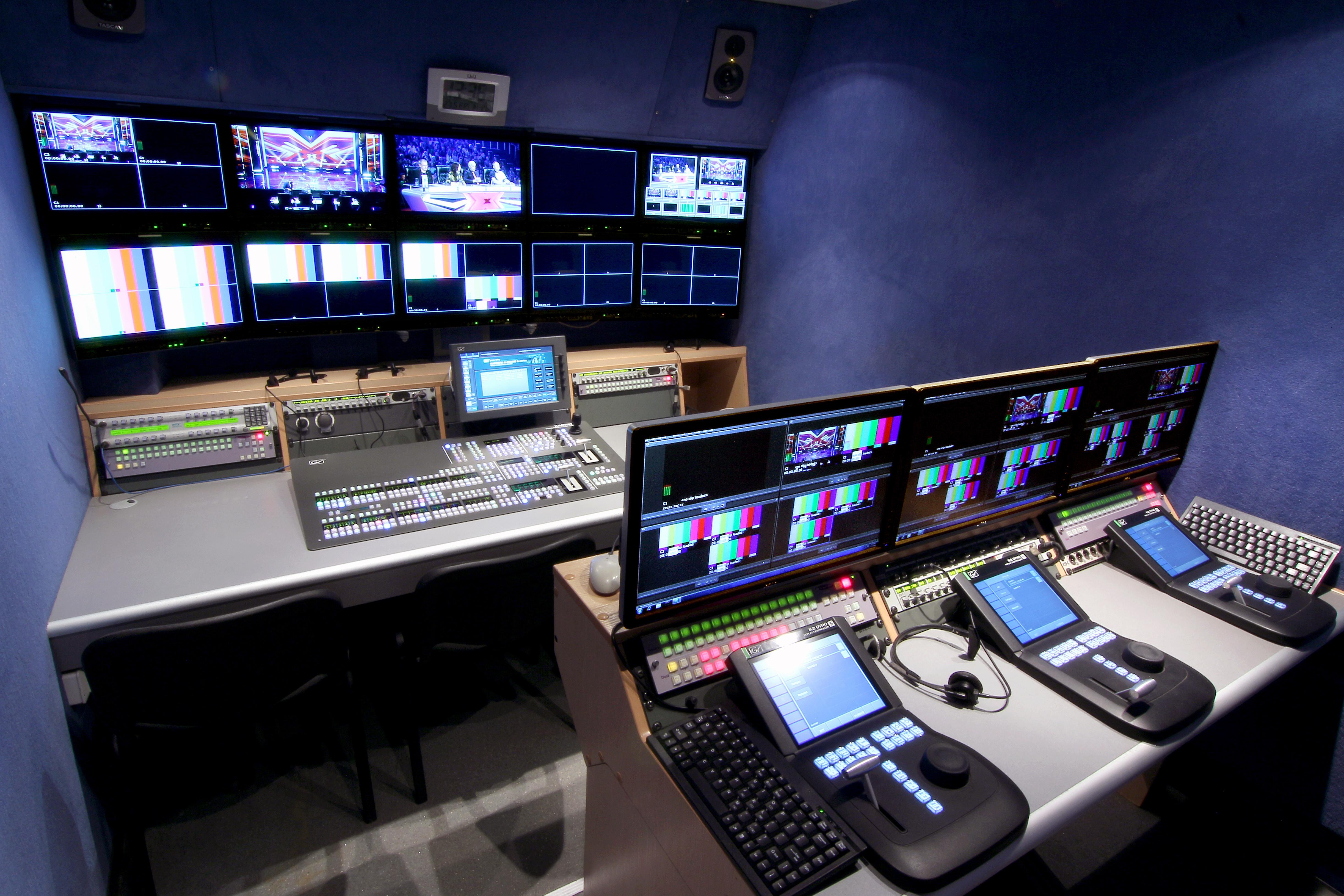 hd outside broadcast van ob1  broadcast services